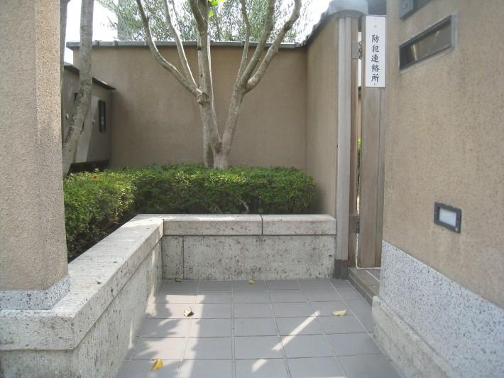 塀、ポーチ施工後