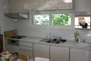 キッチンと洗面台の取替