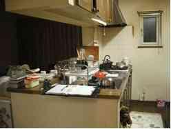 前キッチン