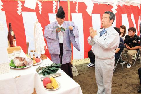 地鎮祭・お引き渡し式